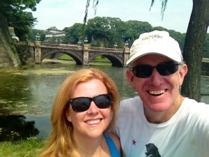 Outside Imperial Palace