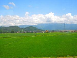 Japan train ride