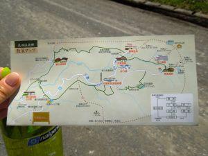 Niuto Onsen map