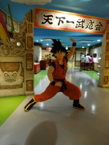 Son Goku was on hand