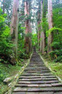 Haguro-san stairs