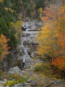The Silver Cascade, Crawford's Notch, NH
