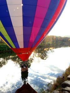 Hot air balloon Quechee VT