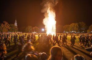 Dartmouth Bonfire Courtesy Jon Steele