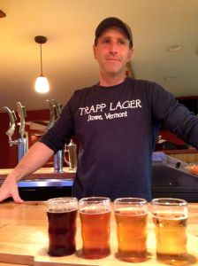 Nate Clouthier at Trapp Lager