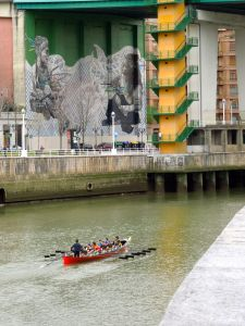 Nervion river, Bilbao