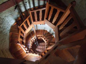 Tower staircase, Hotel Collado