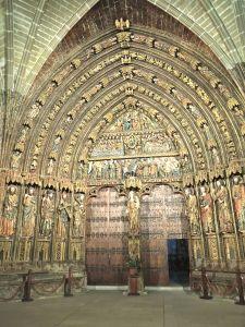 Portico, Santa Maria de los Reyes