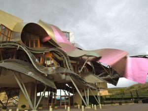 Gehry designed hotel at Marqués de Riscal