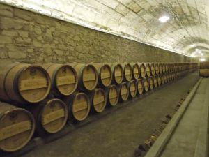 Barrel aging at Marqués de Riscal