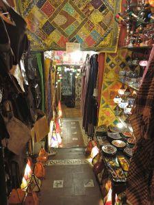A shop entrance in the Albaycin