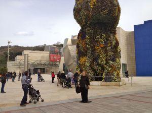 Puppy, Guggenheim Bilbao