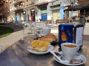 Breakfast in Bilbao