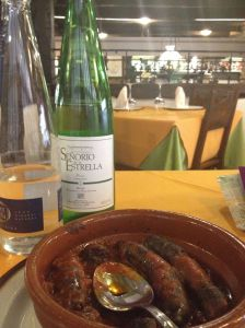 Lunch at Beethoven, Haro, Spain