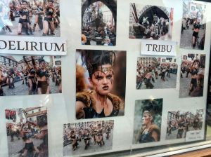 Photos of one of the associations, Delirium Tribu
