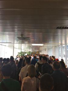 #OTP #BucurestiAirport — Allow an hour for passport control!