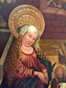 Alsatian-looking Madonna